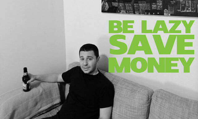 be-lazy-save-money