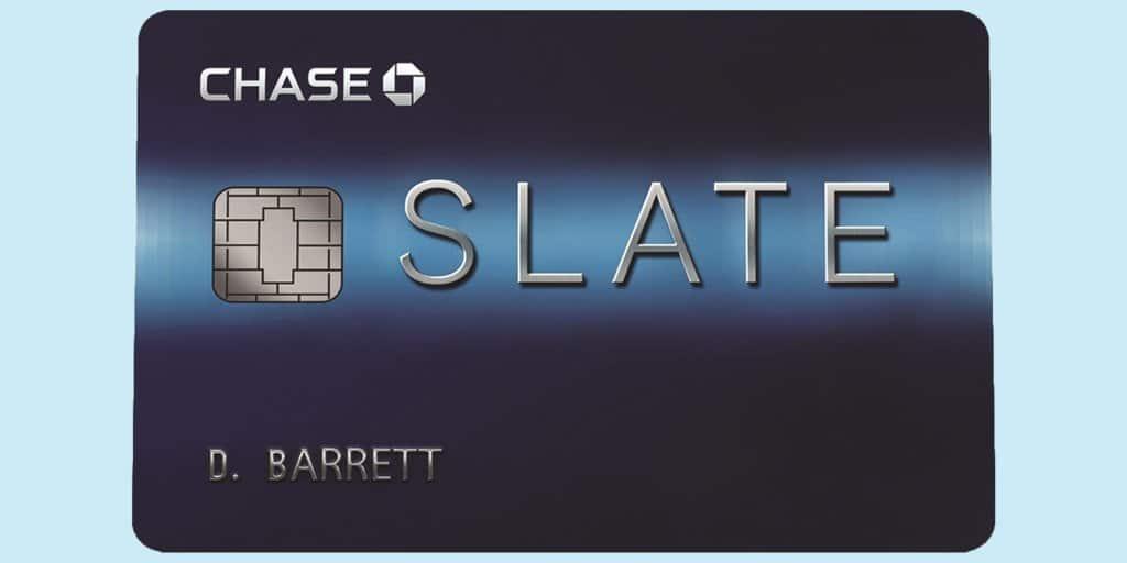 Chase Slate credit card