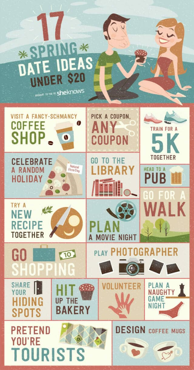 fun cheap date ideas infographic