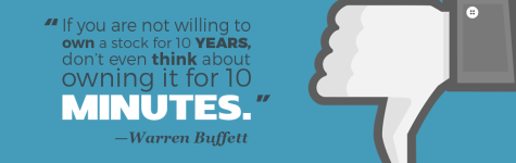 """If you are not willing to own a stock for 10 years, don't even think about owning it for 10 minutes."" —Warren Buffett"