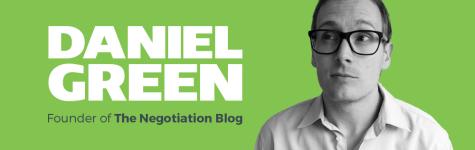 how to negotiate dan green