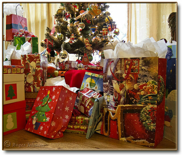 No gifts!