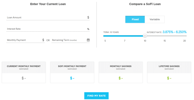 paying off student loans sofi apr