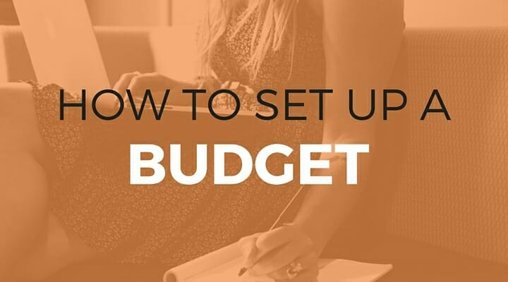101: How to Set Up a Budget