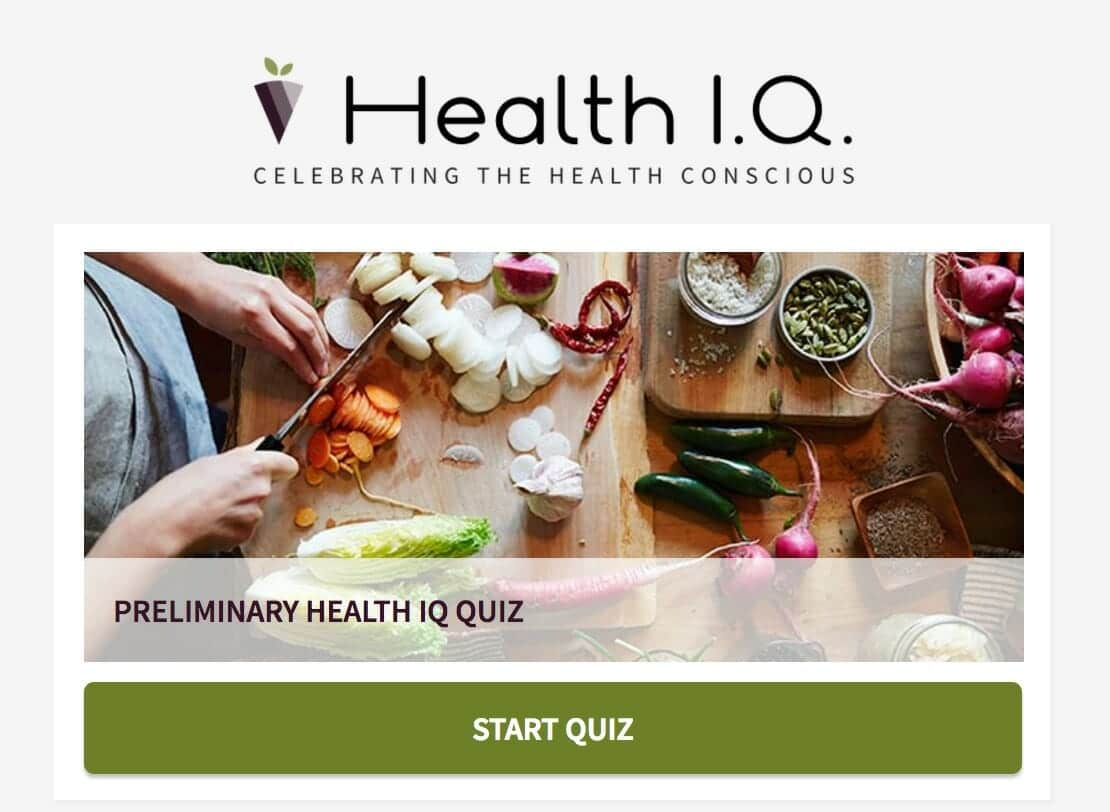 Health IQ Quiz