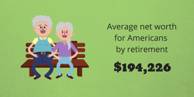 net-worth by retirement
