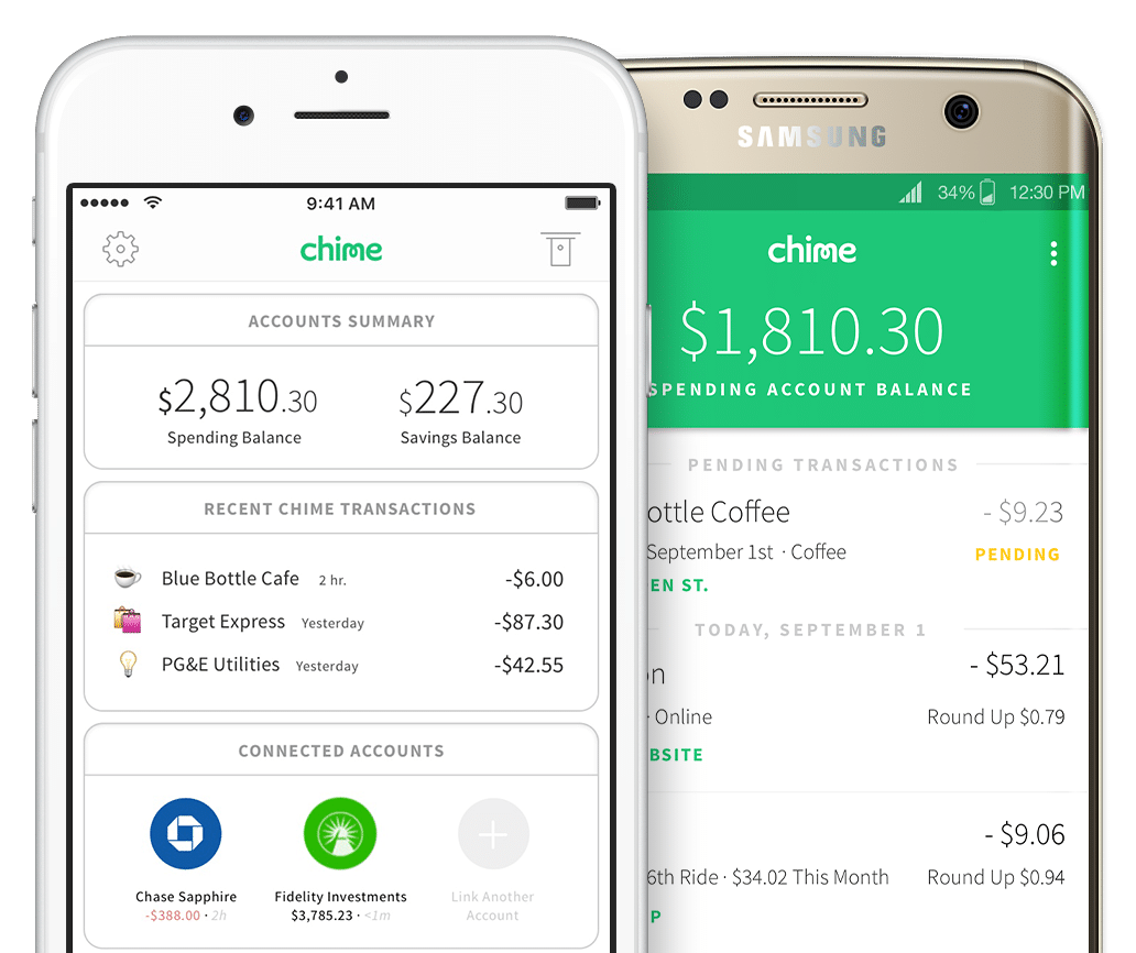 chime bank review mobile