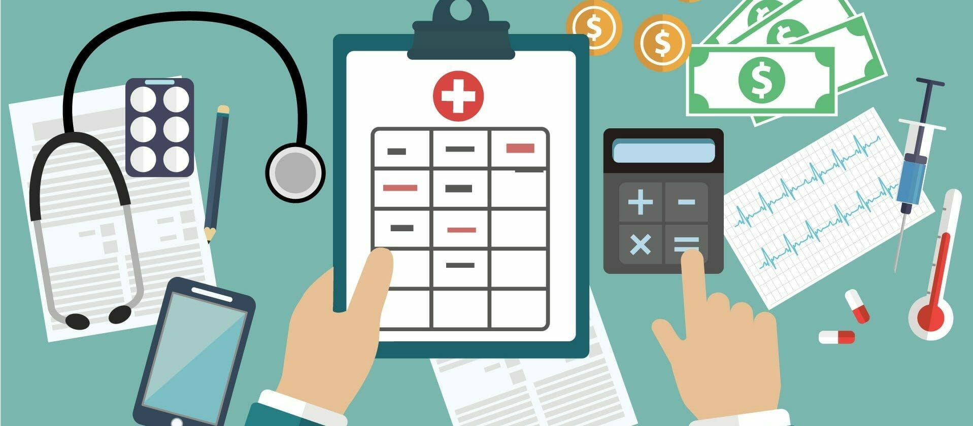 Calculating medical expenses