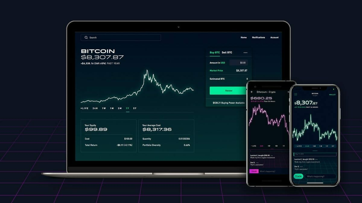 Robinhood moving your cryptocurrency
