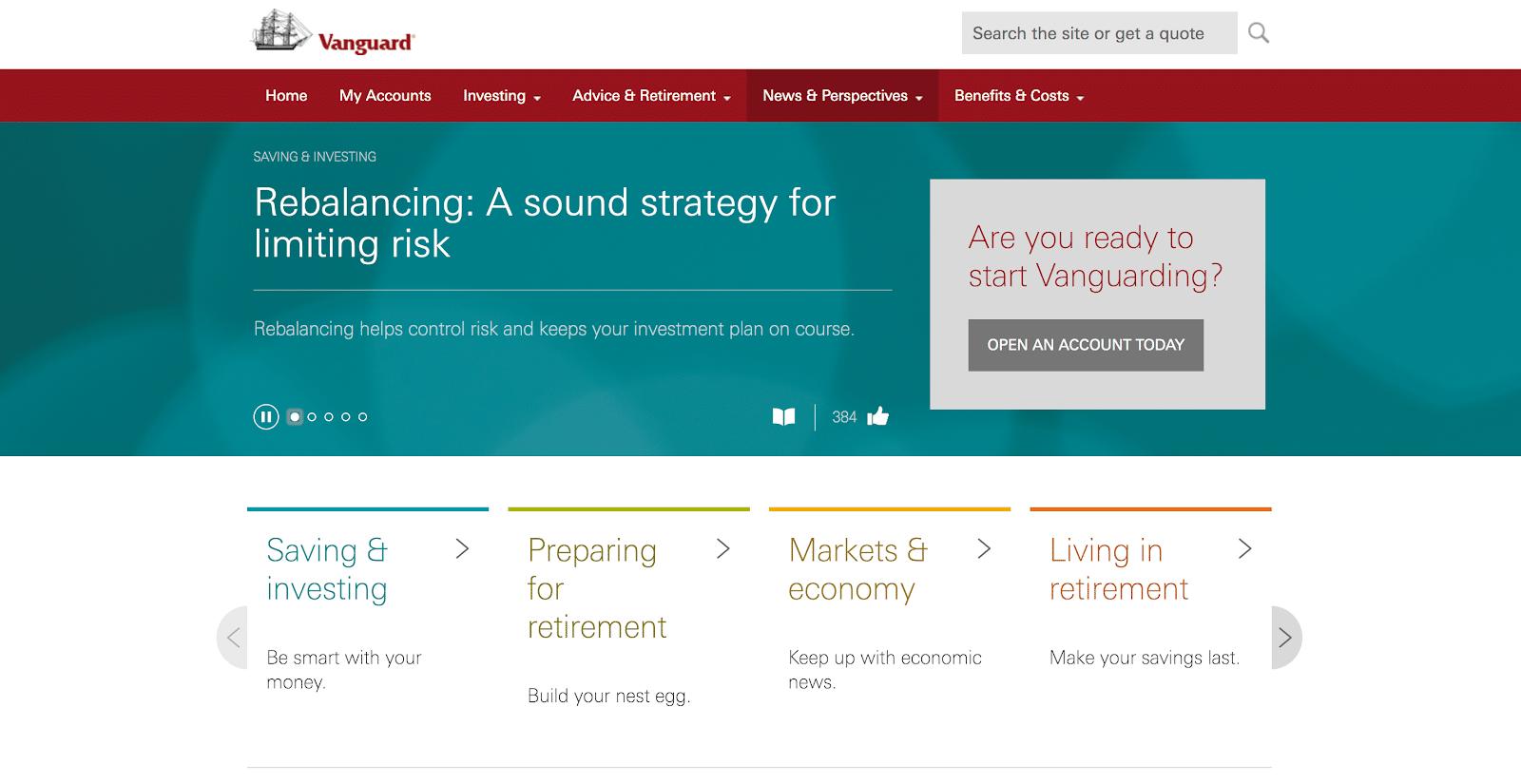 rebalancing limits risk quote