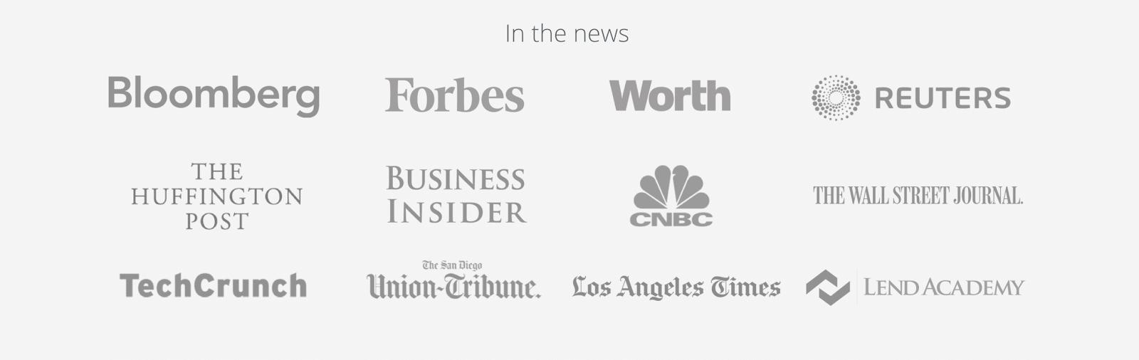 list of all companies peer street is in
