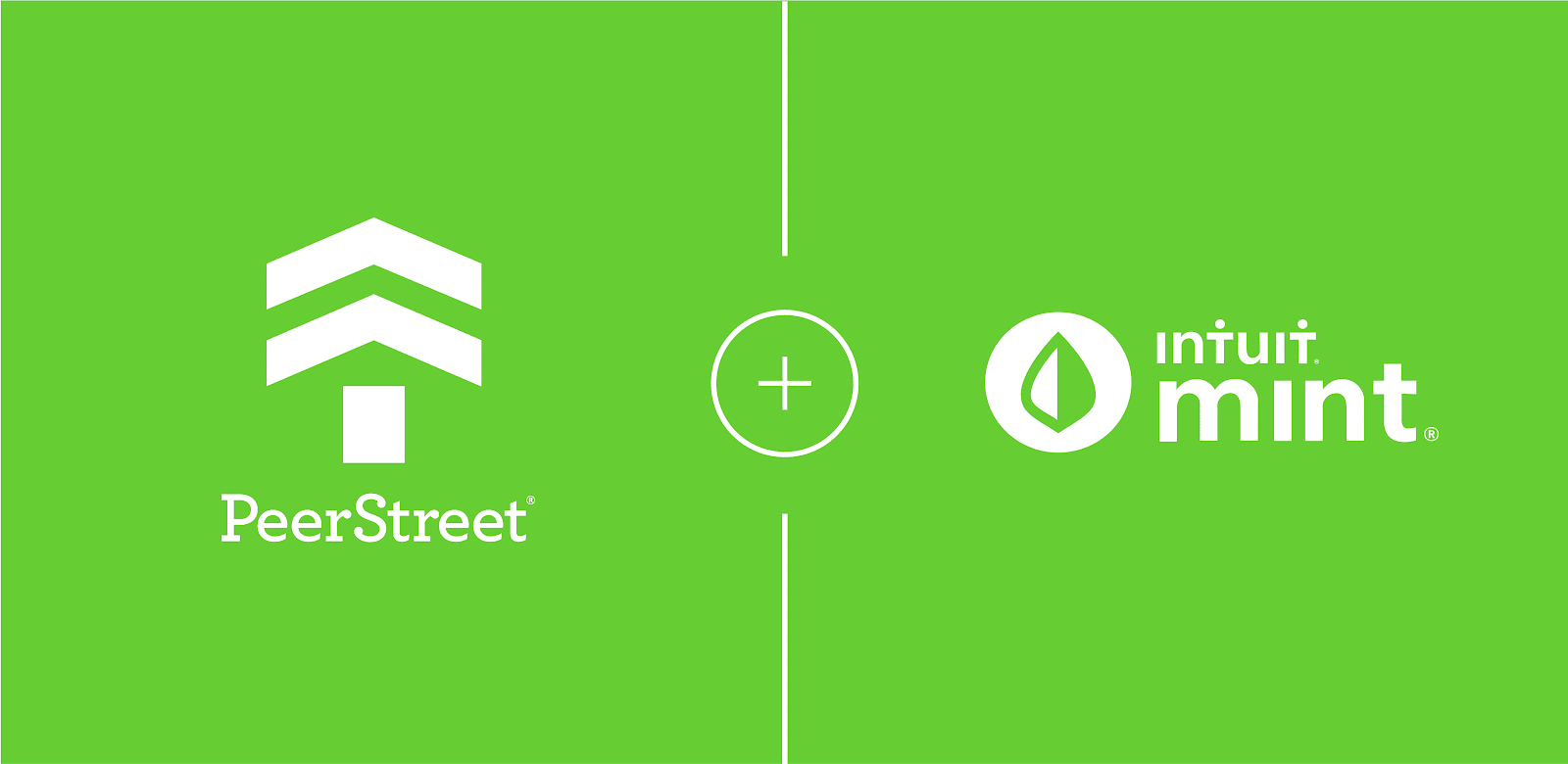 graphic of peer street integrating with mint