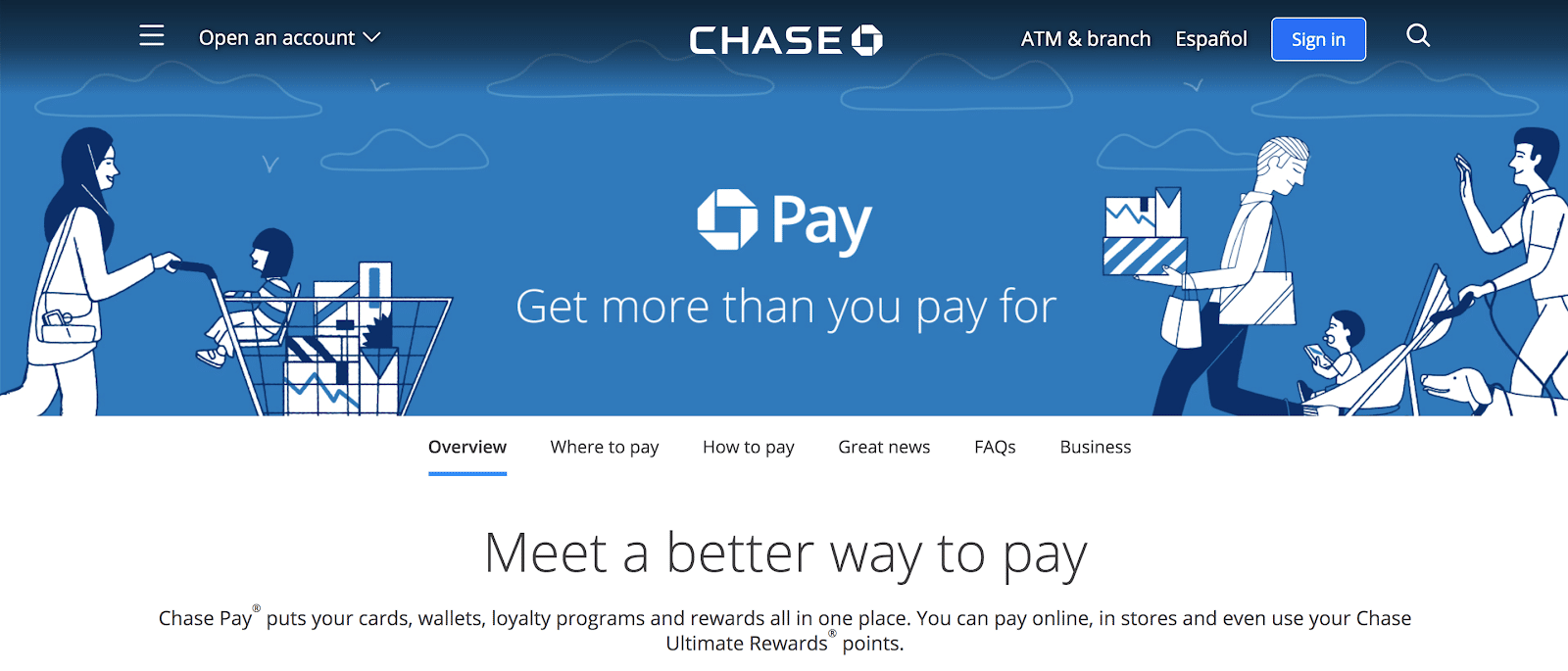 using chase pay