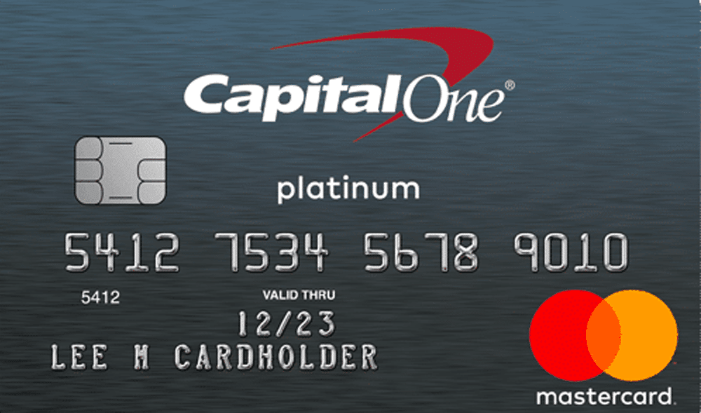Capital One Platinum credit card