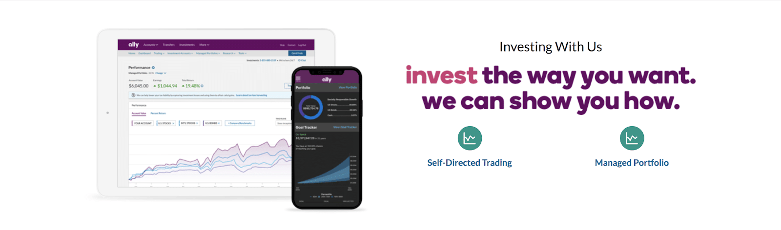 ally invest mobile app