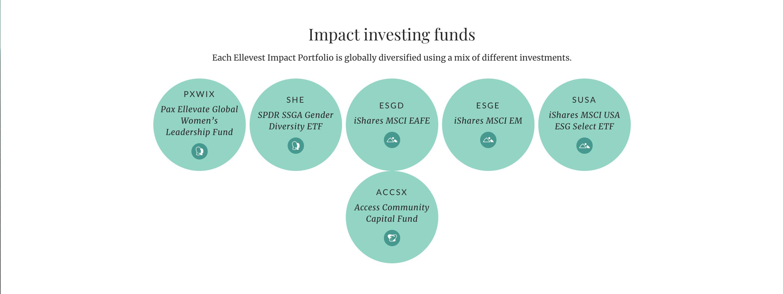 Impact portfolio offerings
