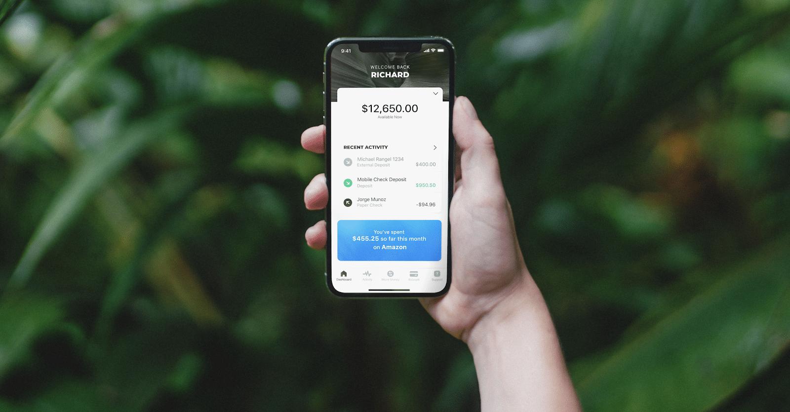 novo bank mobile app