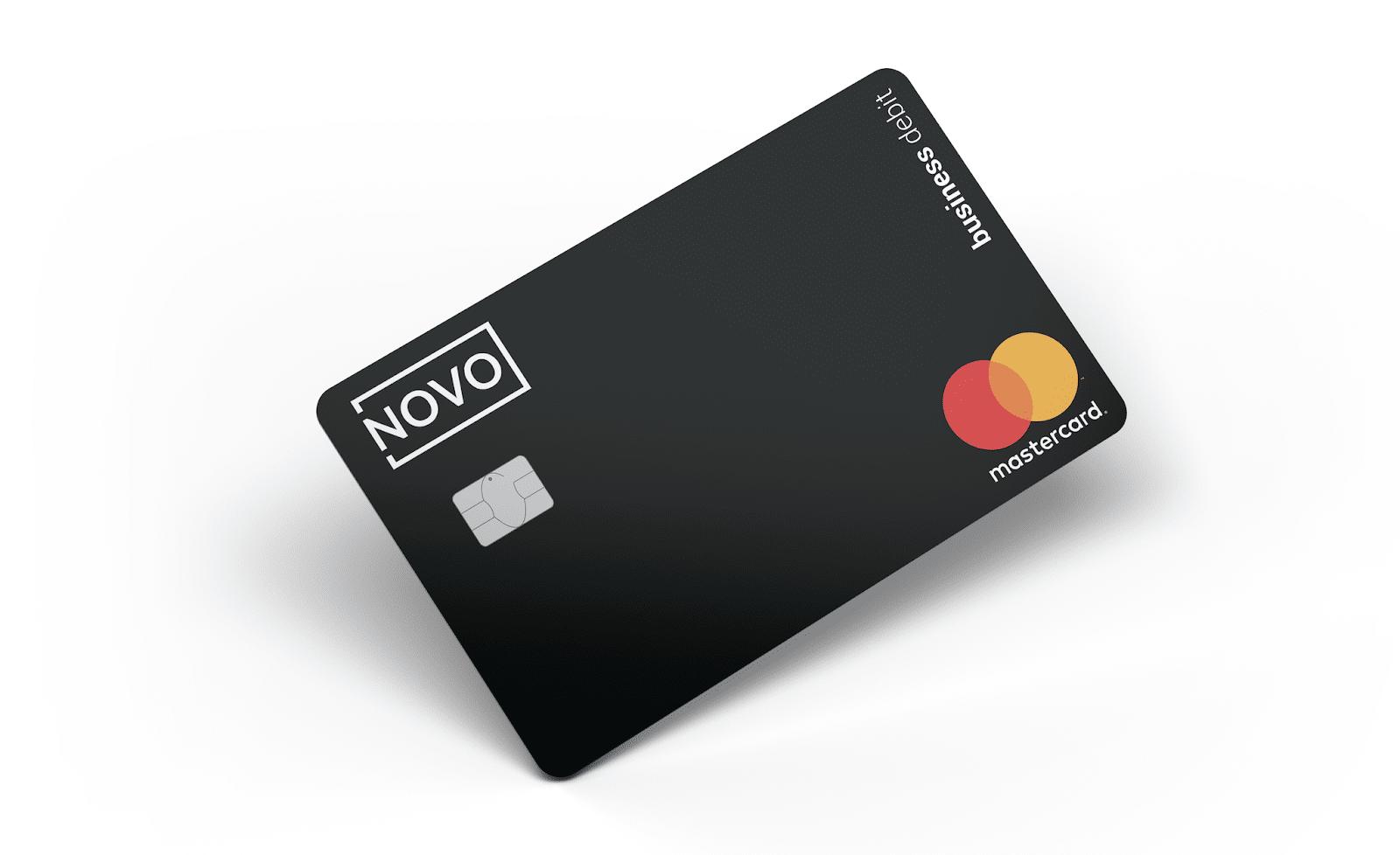 novo bank debit card