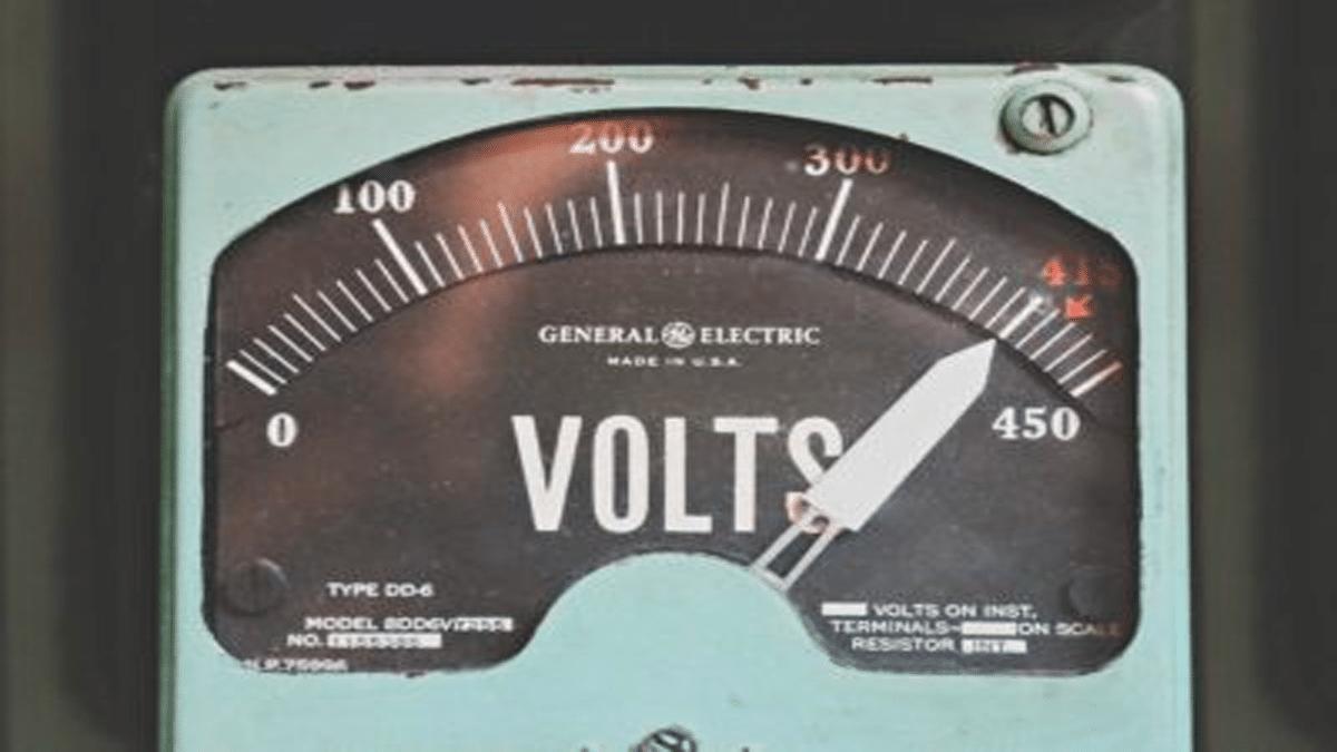 battery voltage