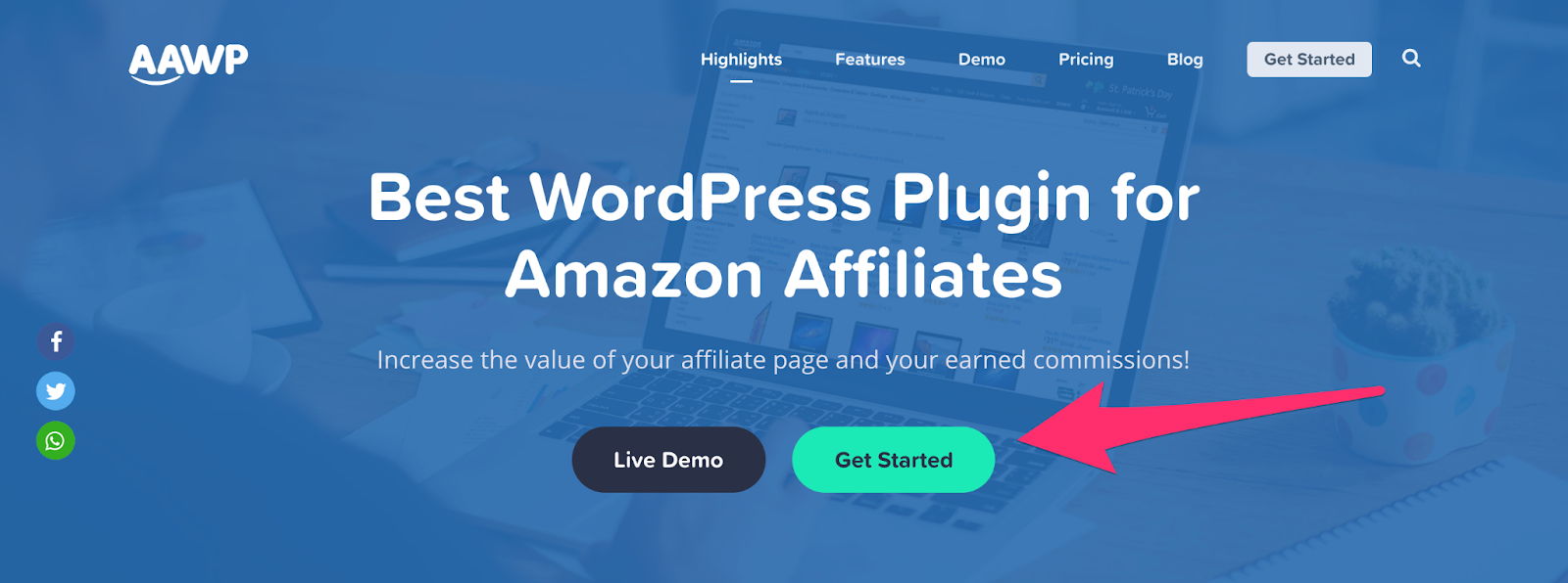 aawp plugin home page